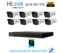 8CH HD TVI Bundle Package with 2TB HDD - Installed