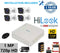 4CH HiLook Turbo 1MP Kit with 1TB HDD - Installed