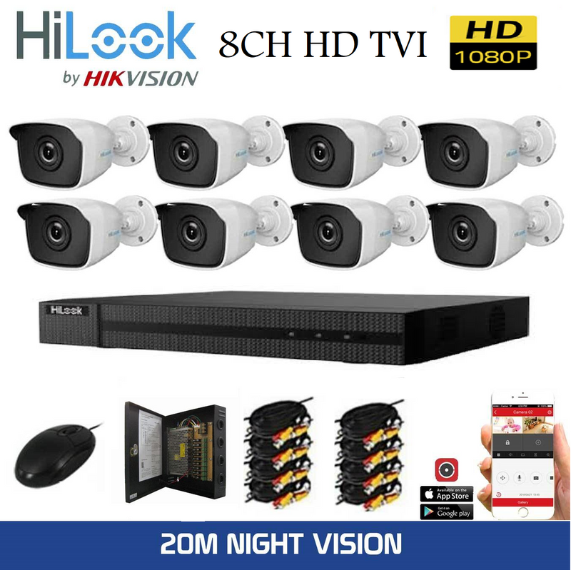 8CH HD TVI Bundle Package
