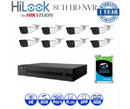 8CH IP NVR Bundle Package 2TB HDD
