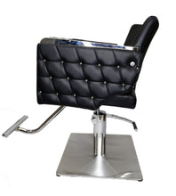 Load image into Gallery viewer, Euro Salon Chair With Stainless Steel Frame