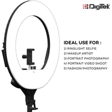 Load image into Gallery viewer, Led Ring Light 18""