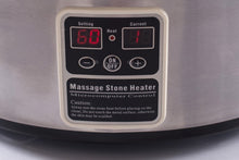 Load image into Gallery viewer, Digital 6 Quart Massage Stone Heater