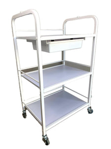 Trolley With 3 Tier & Slide Out Tray Model 4238