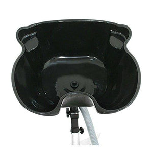 Portable Shampoo Unit With Drain Basin With Adjustable Height