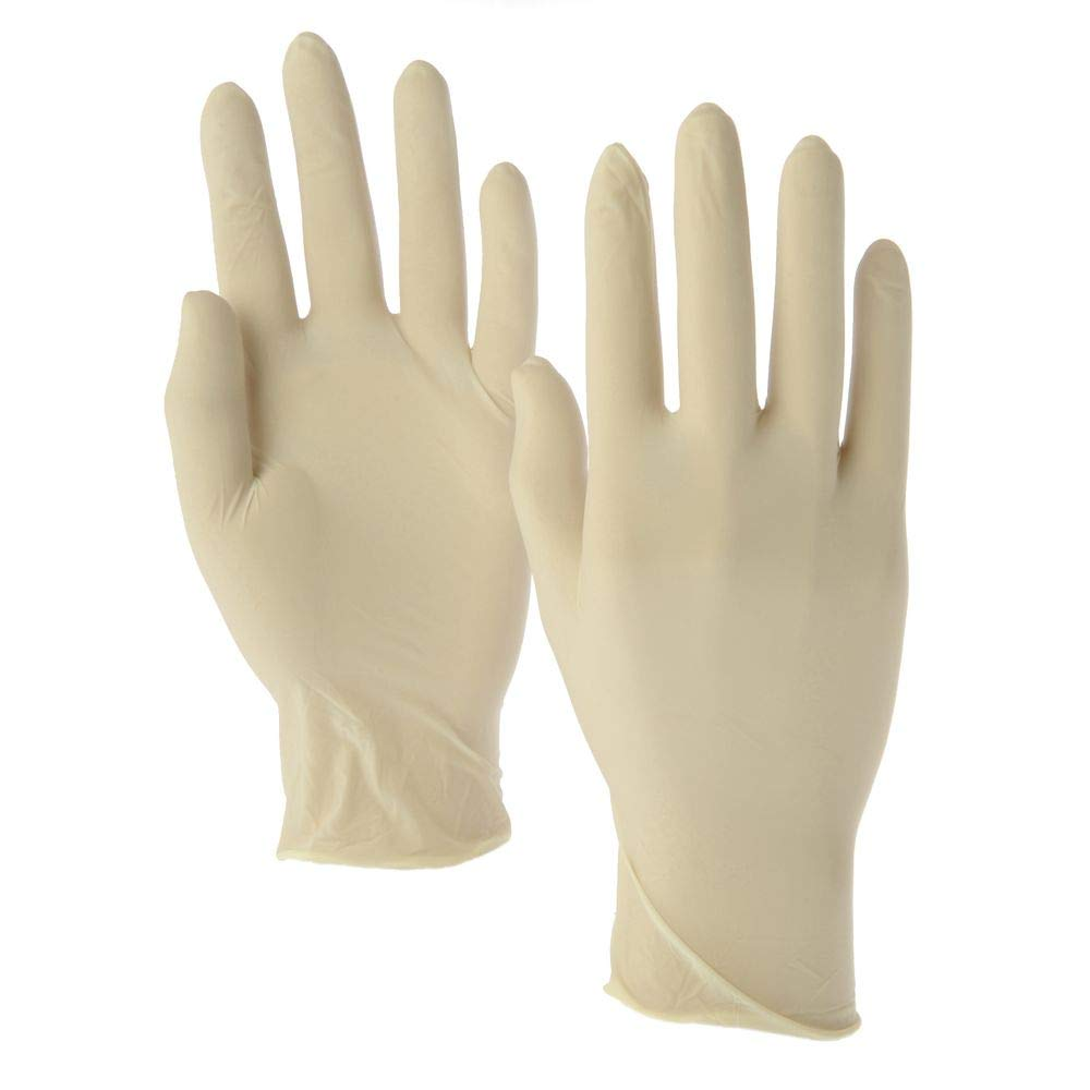 Latex Gloves Powder Free 100pc/Box