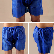 Load image into Gallery viewer, Disposable Blue Unisex Boxers