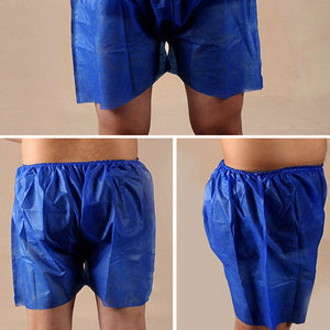 Disposable Blue Unisex Boxers