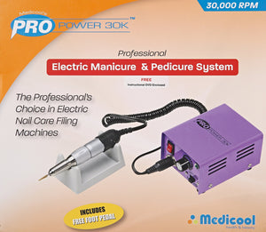 Medicool Pro Power 30K Professional Electric Manicure & Pedicure File