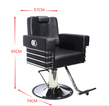 Load image into Gallery viewer, All Purpose Salon Chair, Hydraulic Adjustable Height, Reclinable Back Support