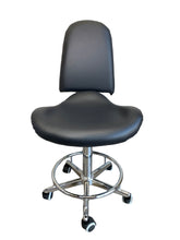 Load image into Gallery viewer, Hydraulic Stool High Backrest With Footrest