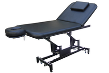 Load image into Gallery viewer, Electric Treatment Table With 2 Motorized Height & Backrest
