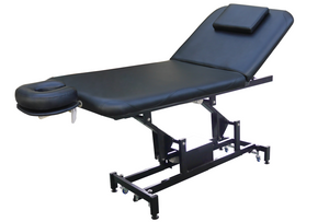 Electric Treatment Table With 2 Motorized Height & Backrest