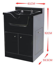 Load image into Gallery viewer, Shampoo Sink With Cabinet