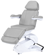 Load image into Gallery viewer, Electric Treatment Table With 4 Motorized Height/Backrest/Legrest/Tlit/Turns 180