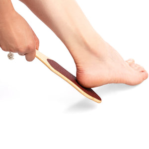 MBI230 Premium Foot File MBI High Quality Water Proof Wooden Foot File
