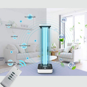 Sterilizer Lamp 110V 36W Light with 15s Delay Time Remote Control for Living Area-with Ozone