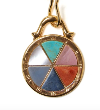 Lizzie Fortunato - Port Pendant in Compass