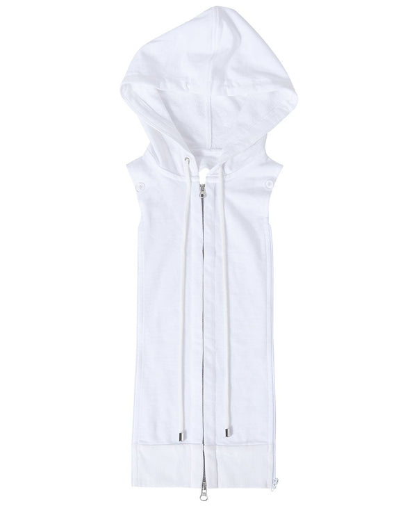 Veronica Beard - Hoodie Dickey in White