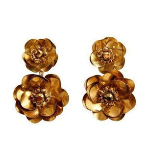 Mignonne Gavigan - Floral Stella Drop Earrings