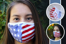 Load image into Gallery viewer, Flag Mask (5-Pack)