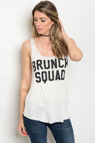 Brunch Squad Graphic Loose Tank
