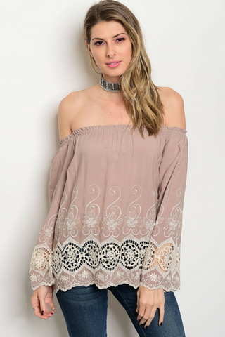 Ethereal Lace Tunic Top