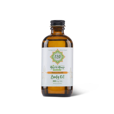 300mg CBD Body/ Massage Oil - Muscle - CBDNSuch.us