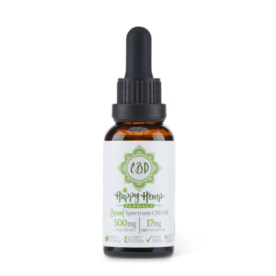 500mg Broad Spectrum CBD Oil - CBDNSuch.us