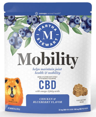 MARTHA STEWART MOBILITY BAKED DOG CHEW 960MG - LARGE - 32MG X 30CT - CBDNSuch.us