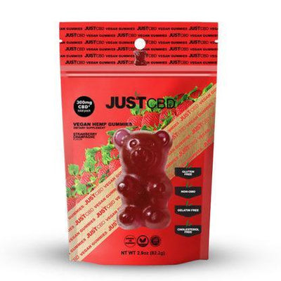 CBD Strawberry Champagne 300mg Vegan Gummies