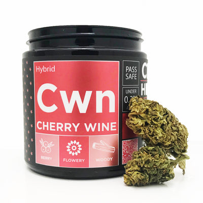 OG CBD Hemp Flower - Cherry Wine - CBDNSuch.us