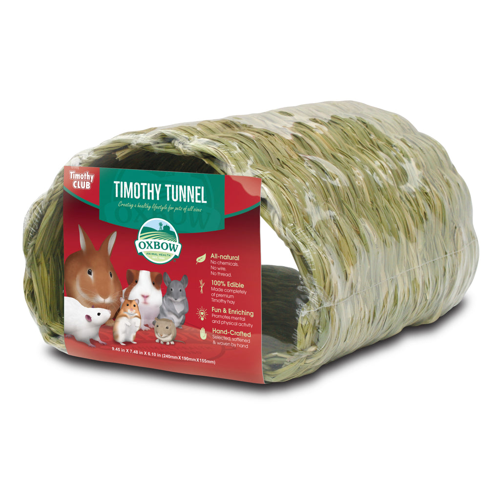 Hay Tunnel (Timothy CLUB) - BinkyBunny.com House Rabbit Store