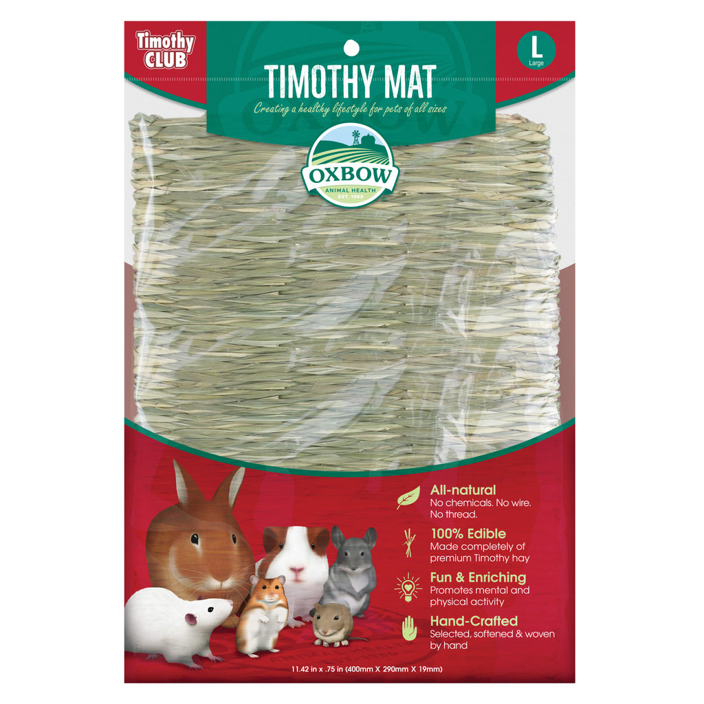 Timothy Mat LARGE by Oxbow (Timothy CLUB) - BinkyBunny.com House Rabbit Store