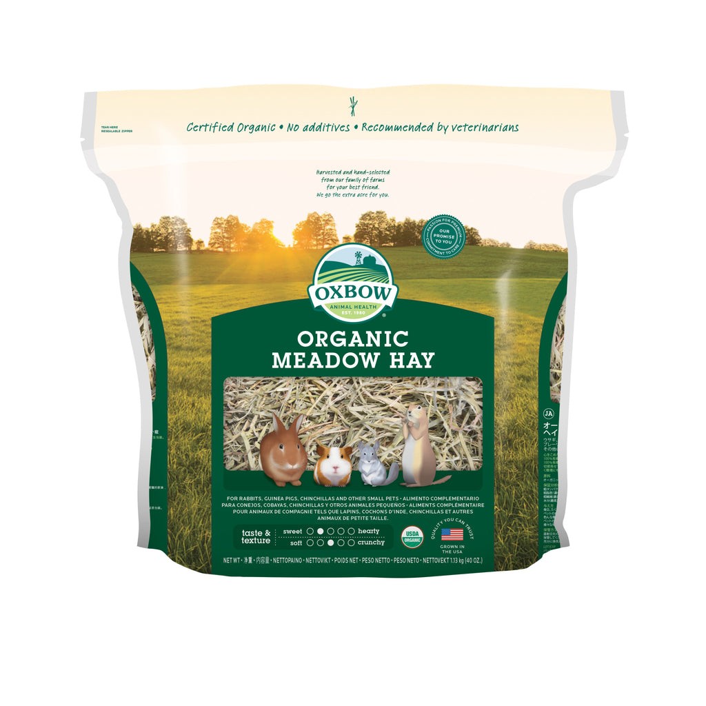 Organic Meadow Hay - 40 oz - BinkyBunny.com House Rabbit Store