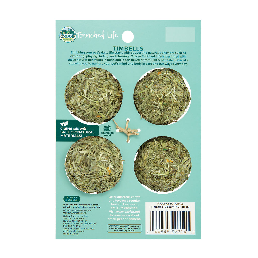 Timbells (Enriched Life) - BinkyBunny.com House Rabbit Store