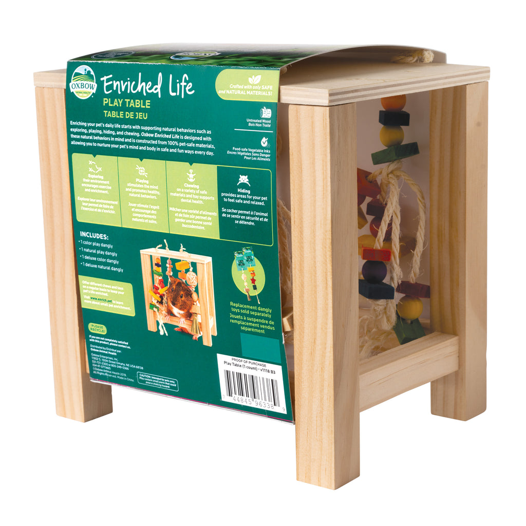Play Table (Enriched Life) - BinkyBunny.com House Rabbit Store