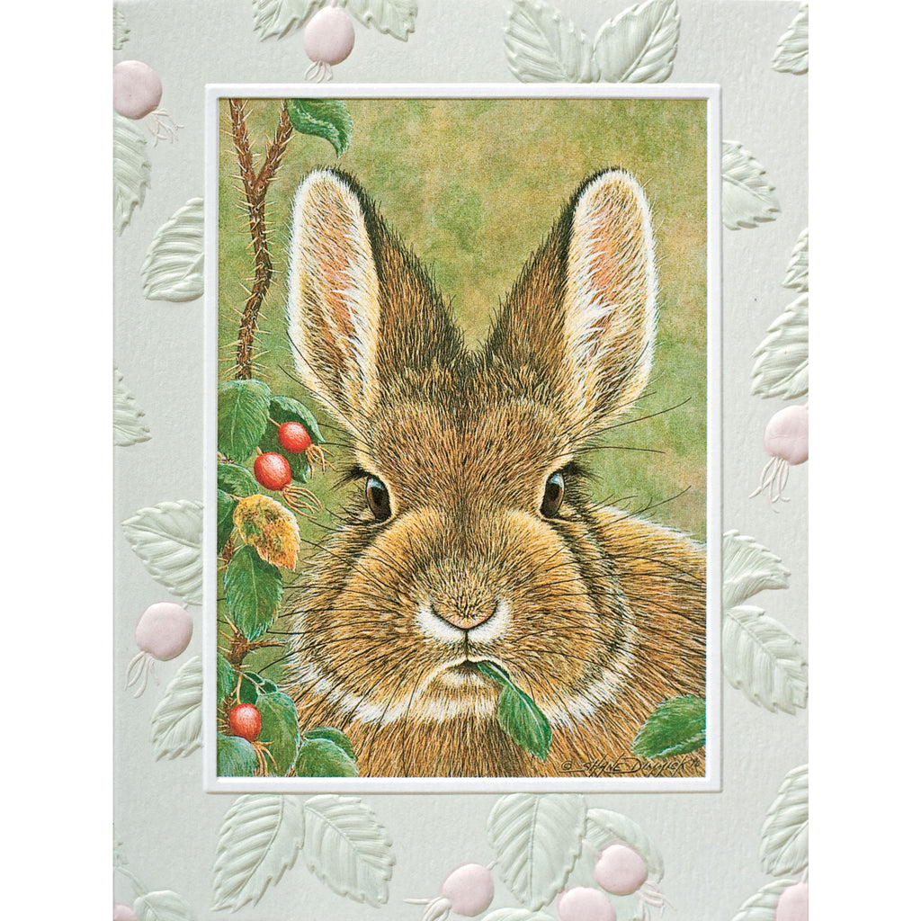 Bunny Brunch Card - BinkyBunny.com House Rabbit Store