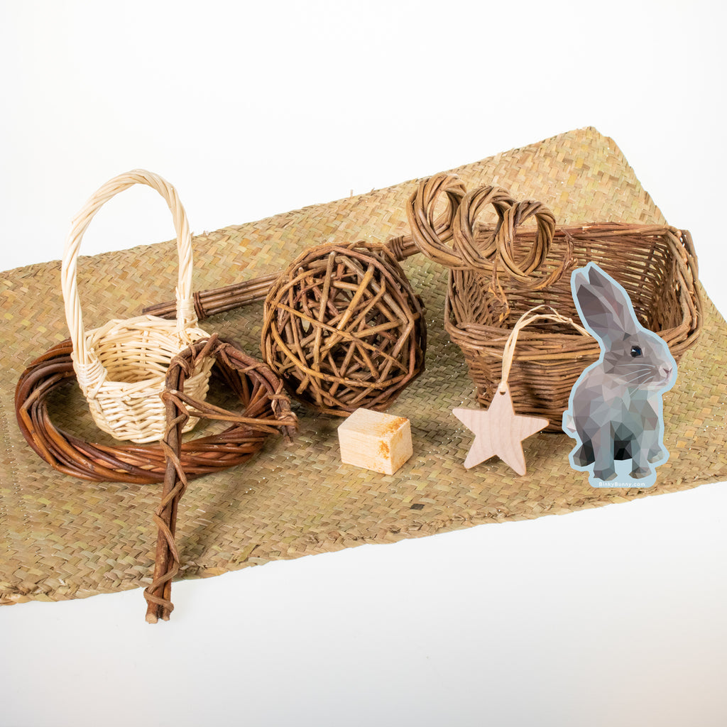 Baskets & Toys Winter Edition 2021 - BinkyBunny.com House Rabbit Store