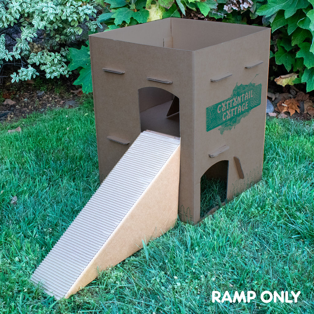 Cottontail Cottage Ramp ADDITION - BinkyBunny.com House Rabbit Store