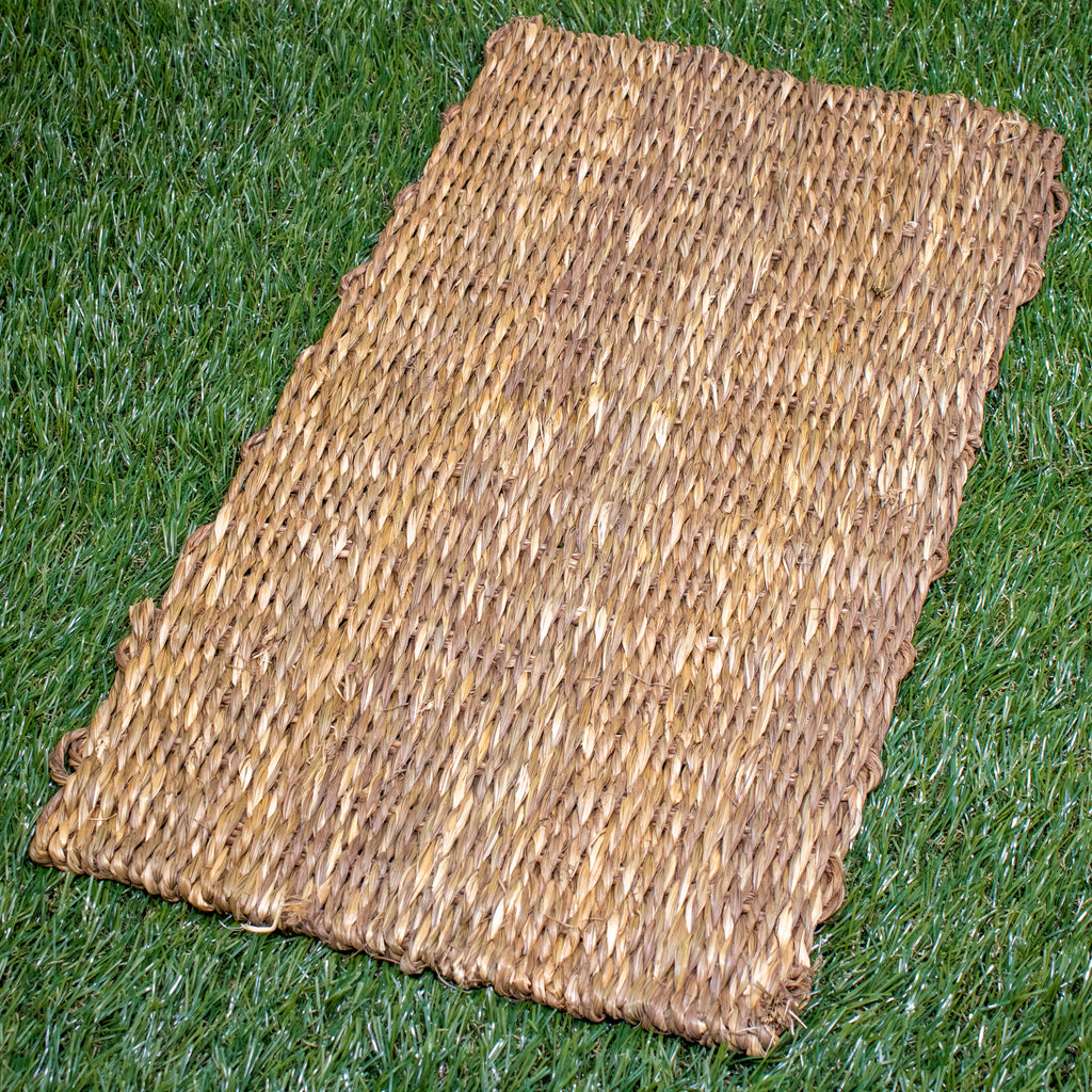 "DOUBLE Weave Sea Grass Mat LARGE [18"" x 11.5""] - BinkyBunny.com House Rabbit Store"