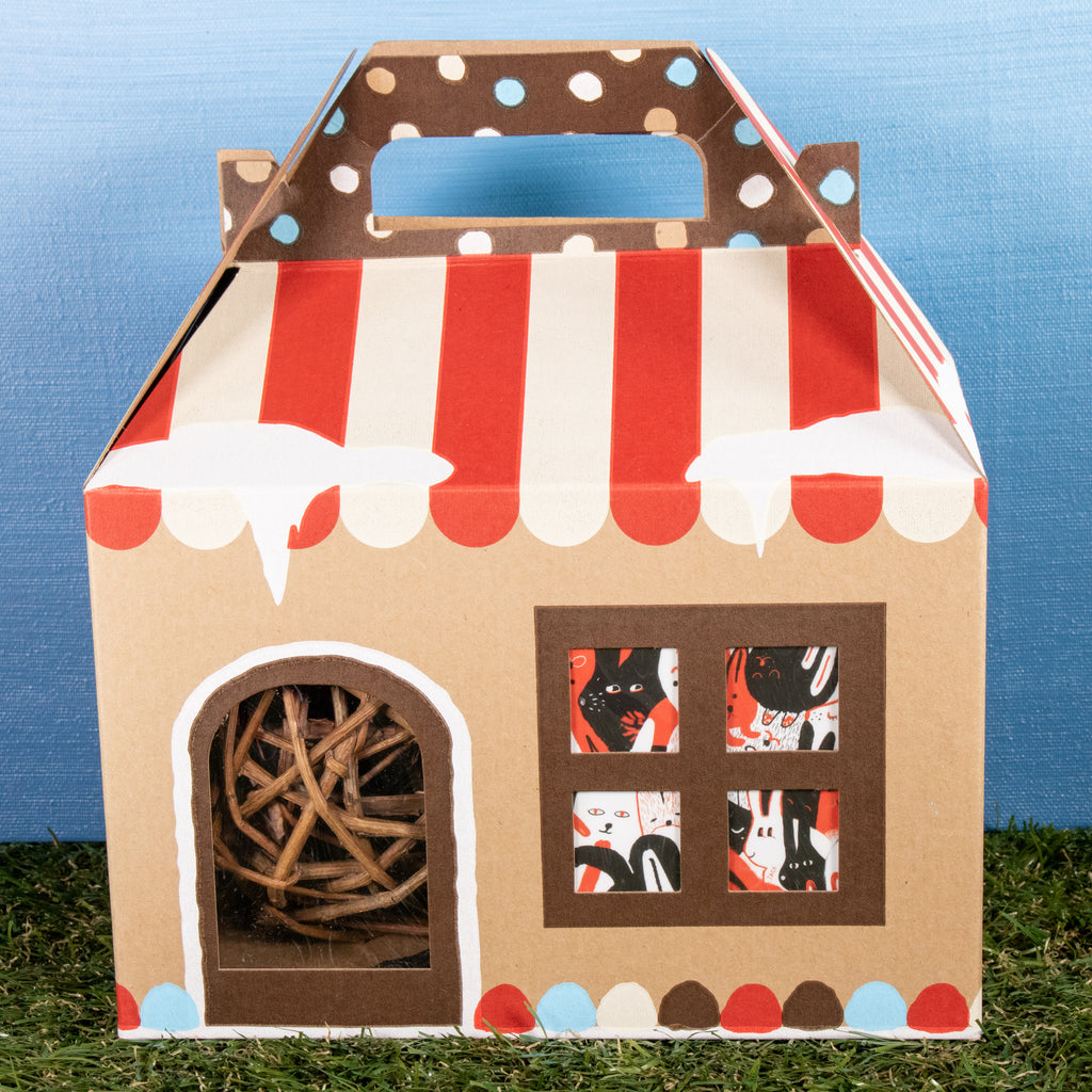 Binky Holiday HOUSE 2020 - BinkyBunny.com House Rabbit Store