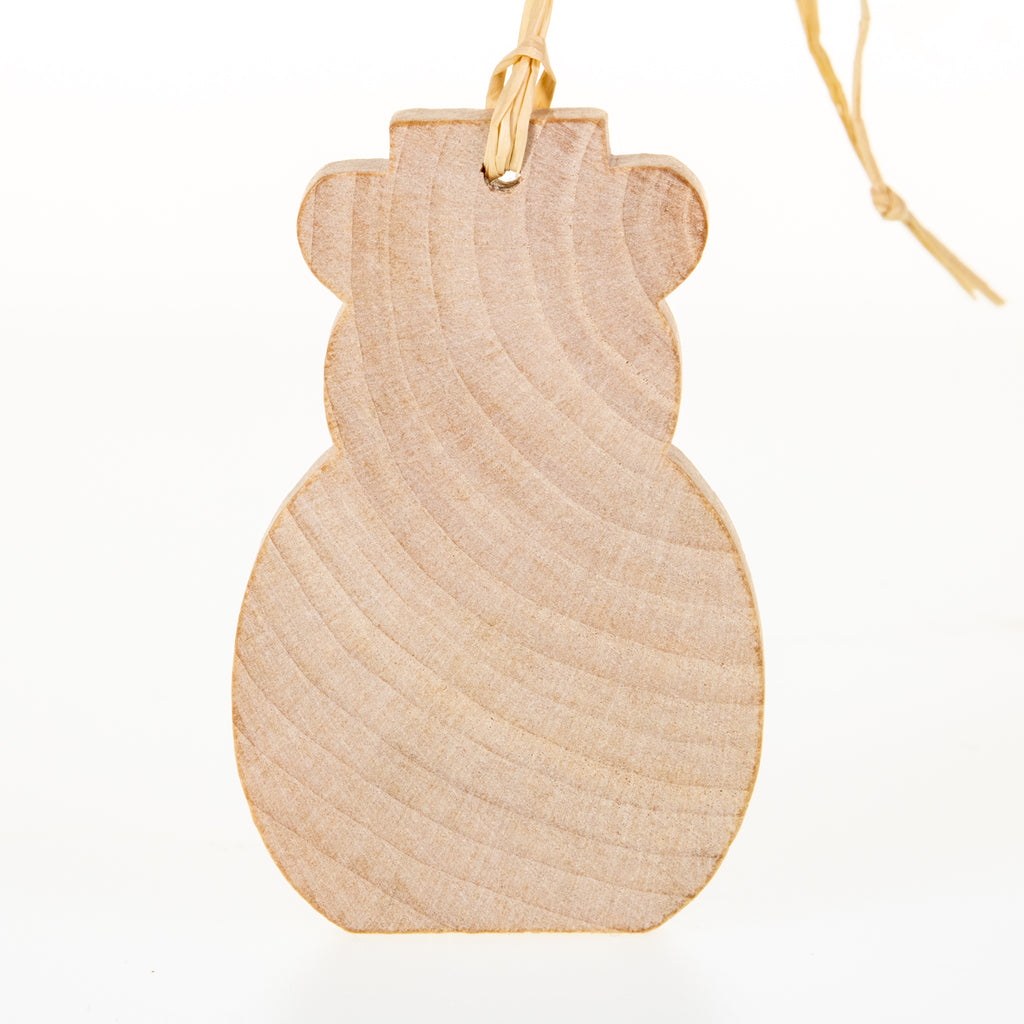 Holiday Wood Ornaments - BinkyBunny.com House Rabbit Store