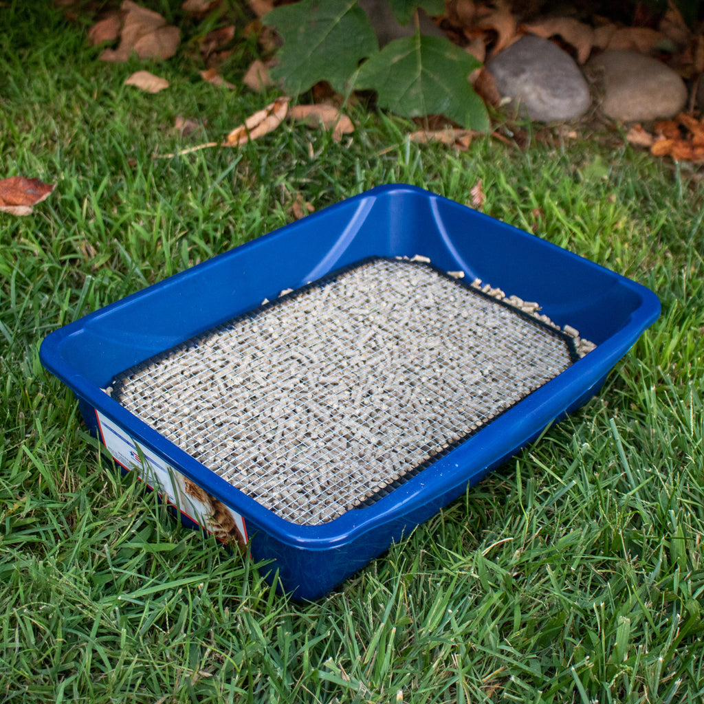 Litter Box & SCREEN KIT (Medium & Large) [Pre-order Only] - BinkyBunny.com House Rabbit Store