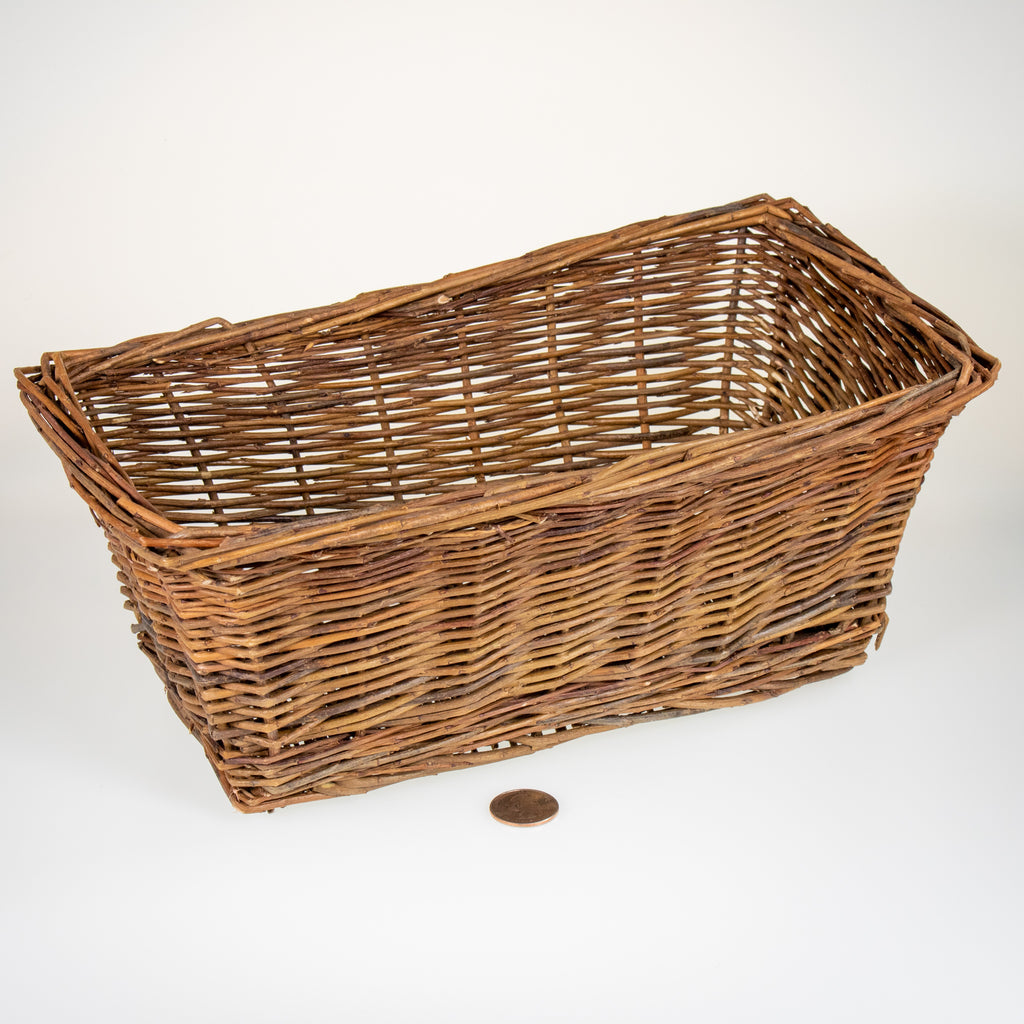 "Rectangular Toy Basket [12"" x 6.5"" x 5""] - BinkyBunny.com House Rabbit Store"