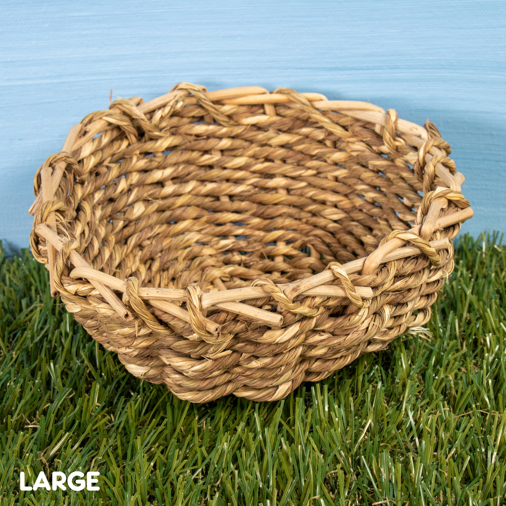 "Sea Grass Bowl LARGE [6""] - BinkyBunny.com House Rabbit Store"