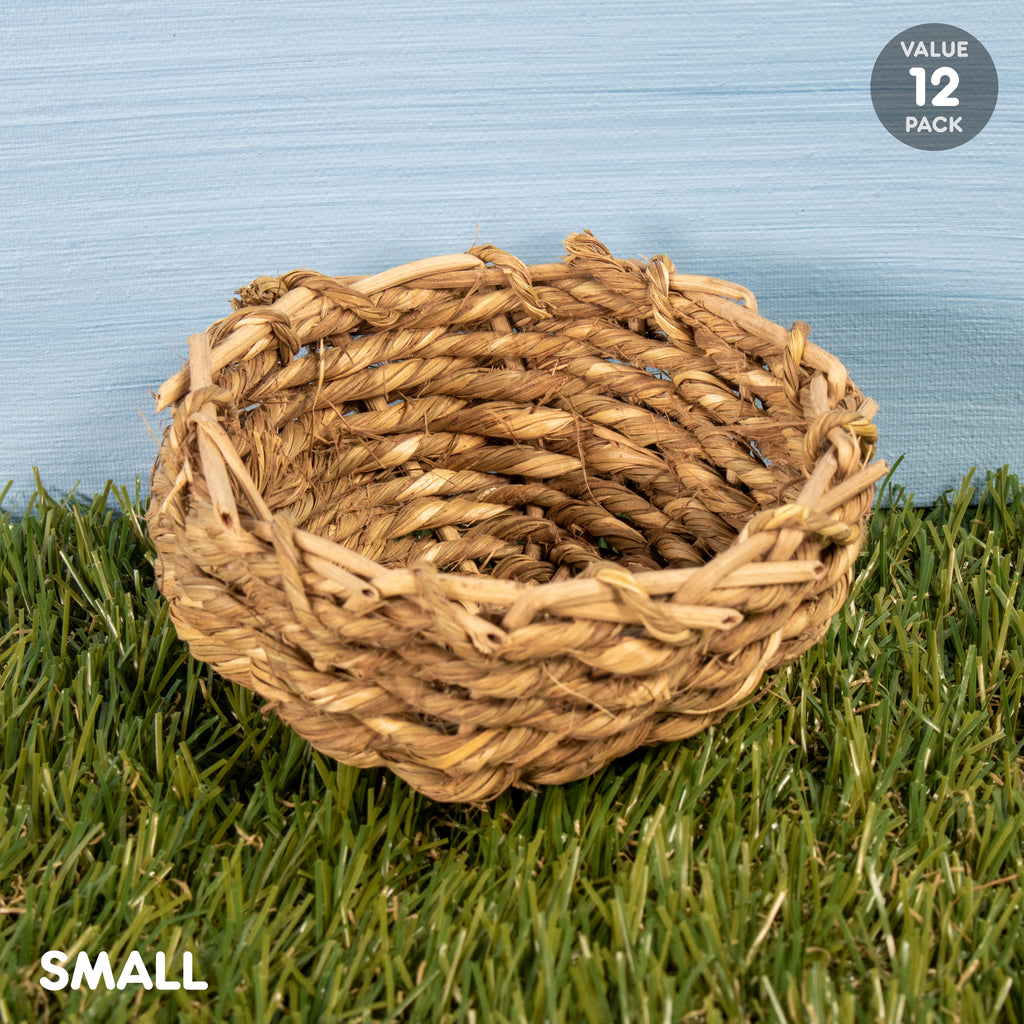 "Sea Grass Bowl SMALL - 12 PACK [4""] - BinkyBunny.com House Rabbit Store"