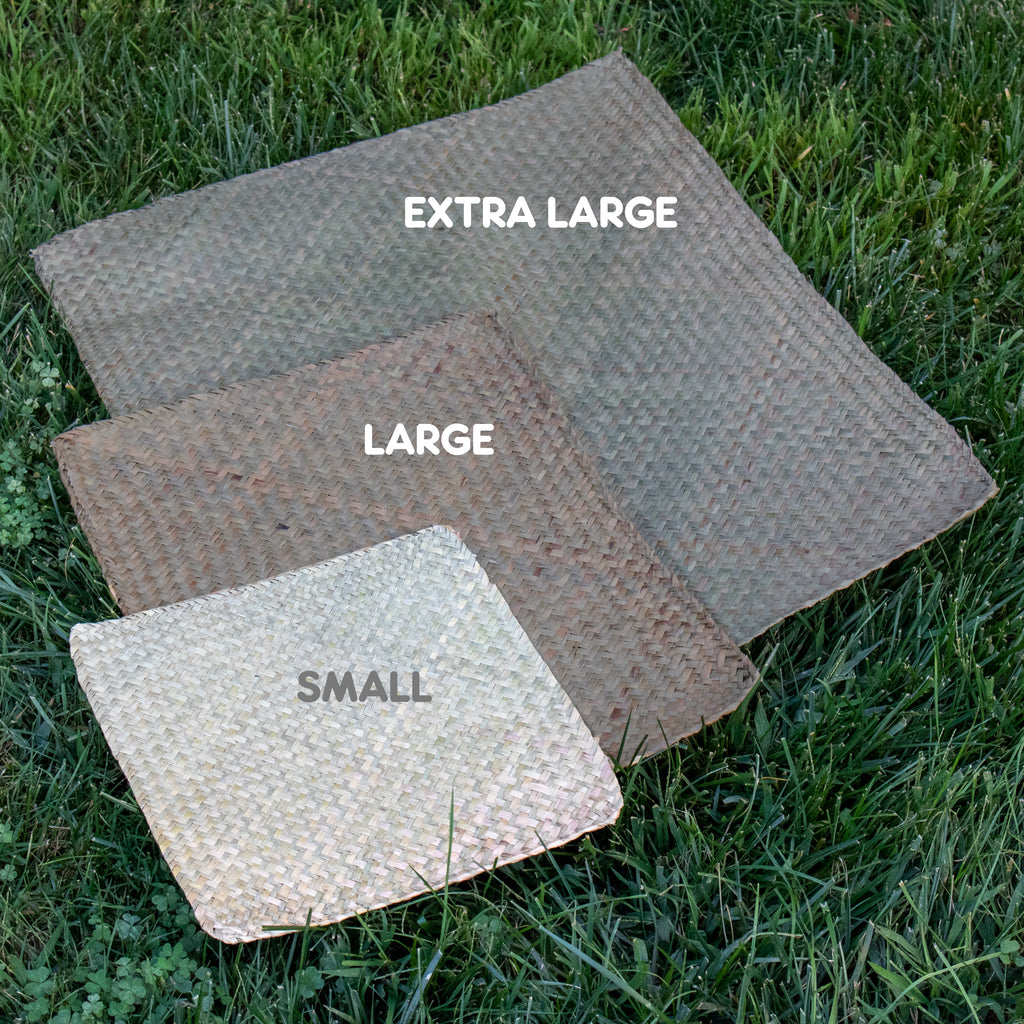 "Sea Grass Mat SMALL - 6 PACK [11"" x 12"" x 1/8""] - BinkyBunny.com House Rabbit Store"