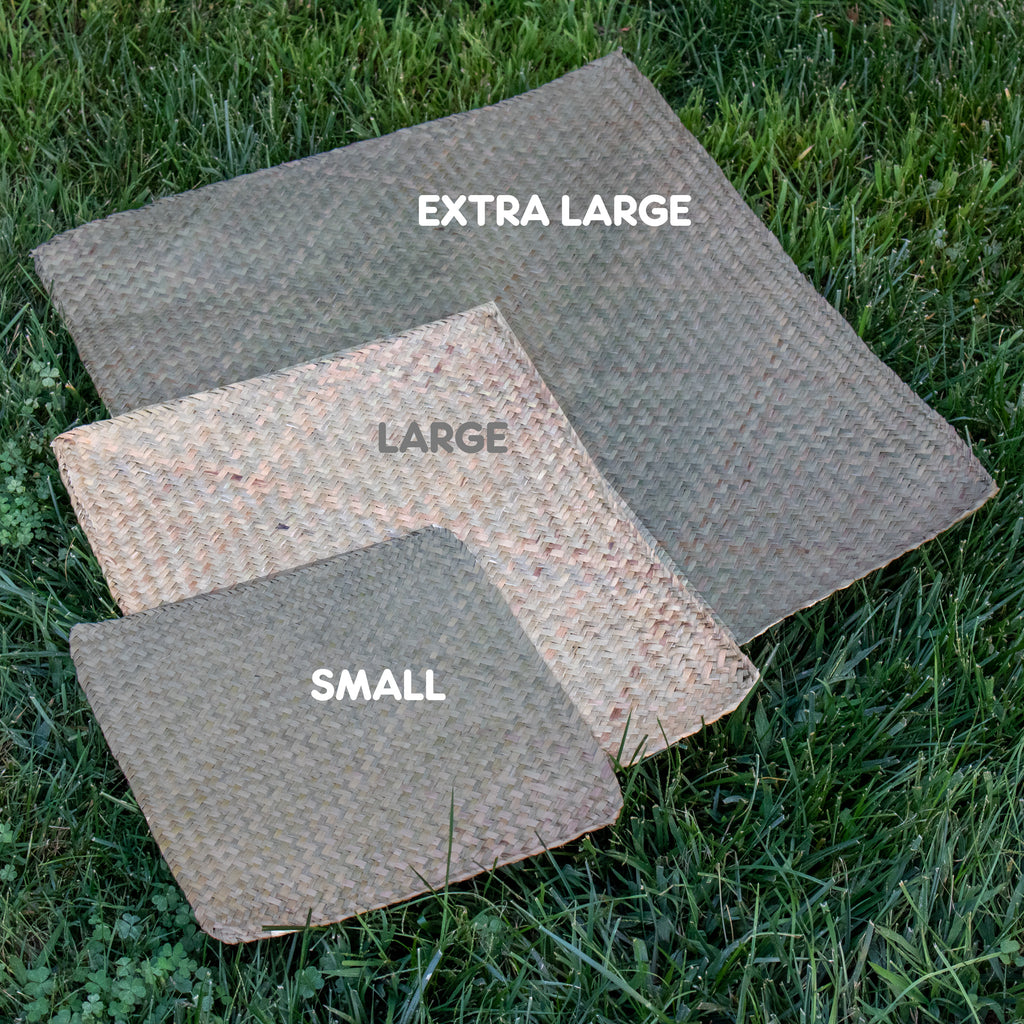 "Sea Grass Mat LARGE - 6 PACK [11"" x 19"" x 1/8""] - BinkyBunny.com House Rabbit Store"