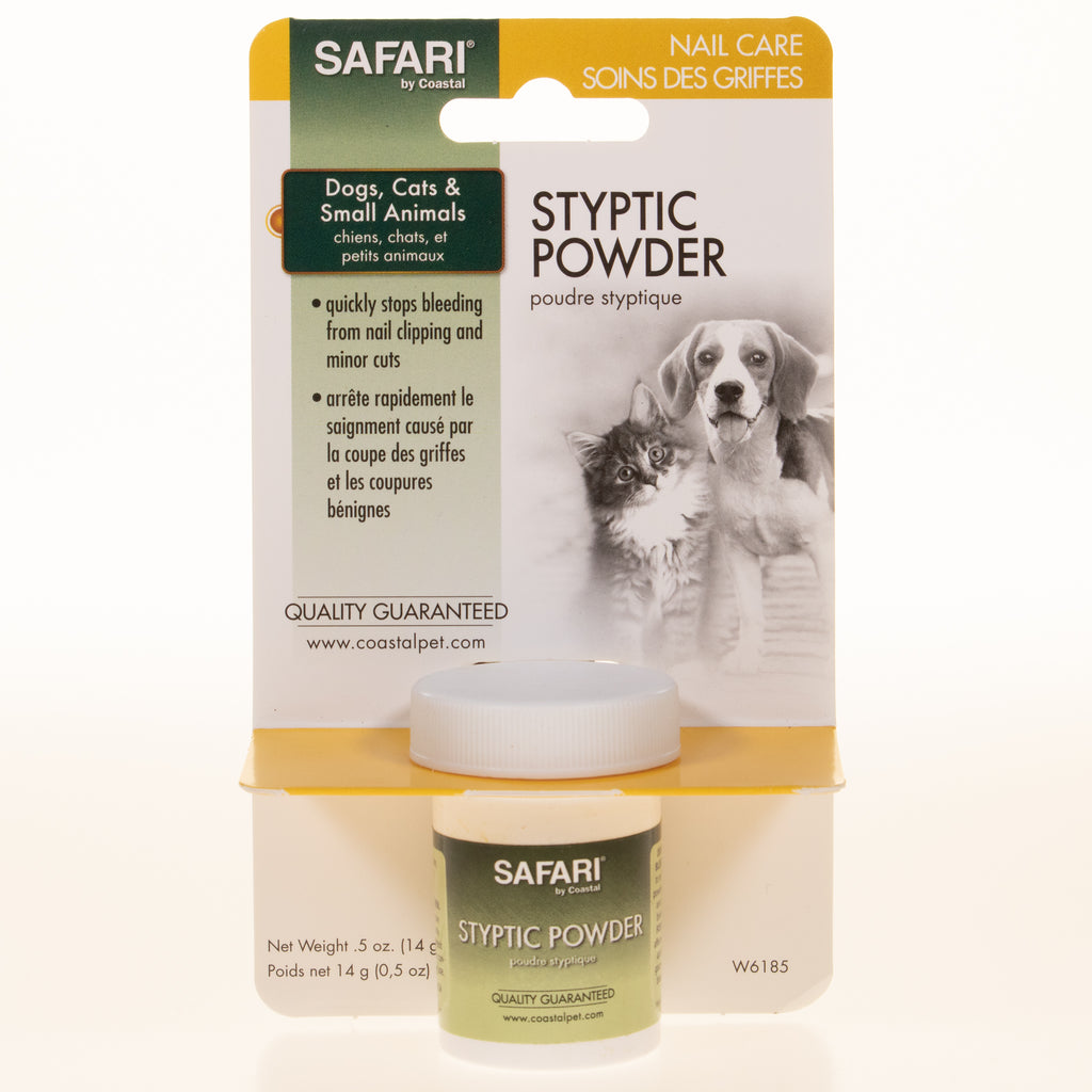 Safari Styptic Powder - BinkyBunny.com House Rabbit Store